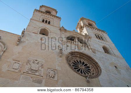 Duomo Cathedral of Altamura. Puglia. Southern Italy.