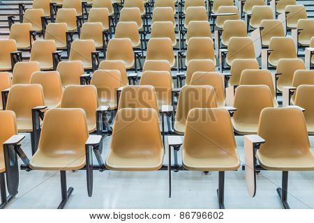 Empty  Student Empty Lecture Hall