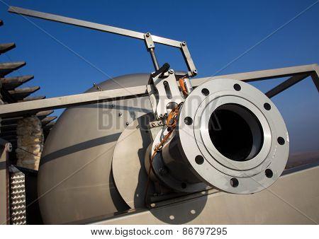 Wine Factory Aluminum Barrels