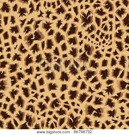Masai Giraffe Skin Seamless Vector Print