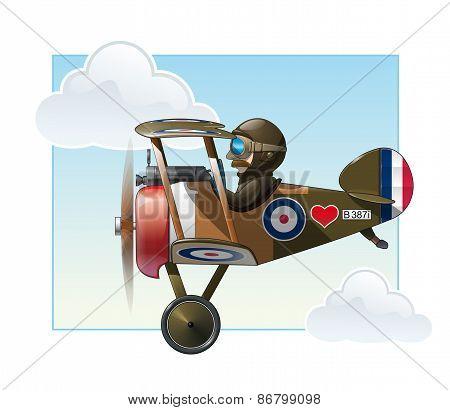 Ww1 Aeroplane Toys - Vickers