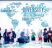 image of diversity  - Diversity Community Meeting Business People Concept - JPG