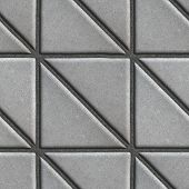 pic of paving  - Gray Paving Slabs  - JPG