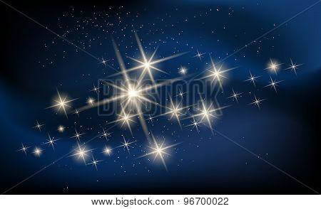 Constellaton and Galaxy