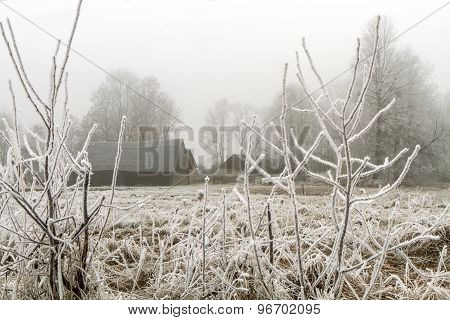 Ice-covered Stagars
