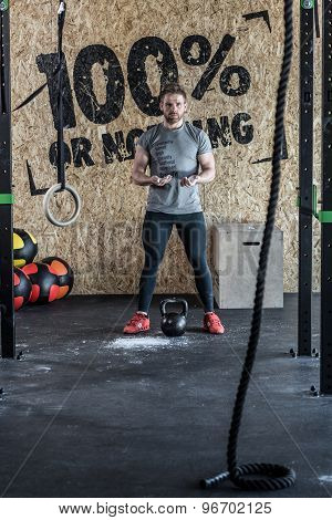 Instructor Of Cross Fit Training