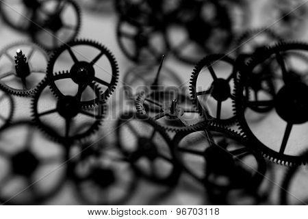 Small Parts Of Clock