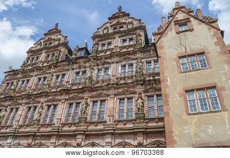 Castle of Heidelberg (Heidelberger Schloss), Germany