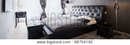 Exclusive Bedroom In Luxury Hotel