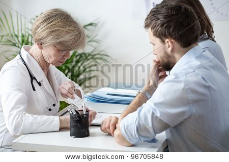 Couple With Health Problems