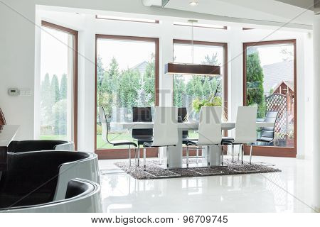 Dining Room For Big Family
