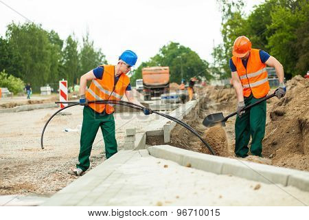 Road Construction Site