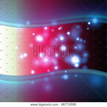 Blur light bokeh background