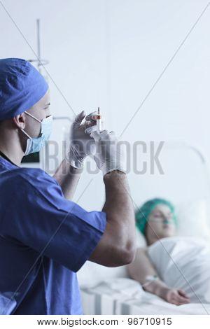 Medic With Syringe