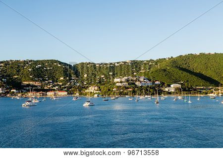 St Thomas Bay In Morning Light