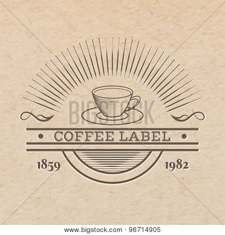 Cup Label