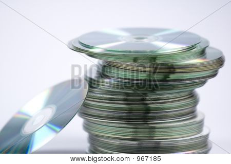 Stack Of Cd'S
