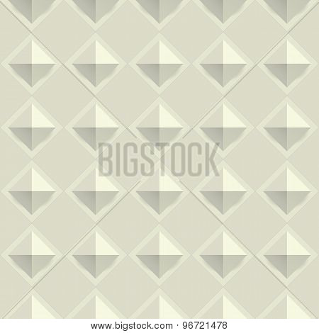 Seamless geometry texture pattern vector.