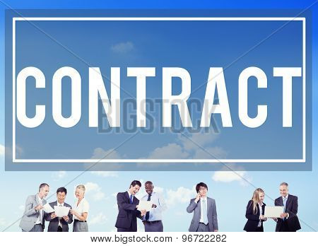 Contract Legal Occupation Partnership Deal Concept