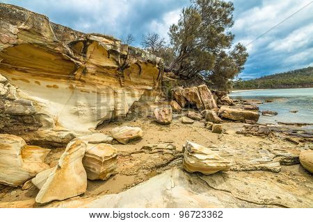 Cliffs Tasmania
