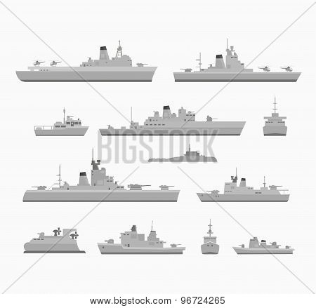 Set warships