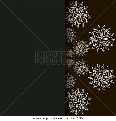 Ethnic Pattern. Abstract Greeting Card.