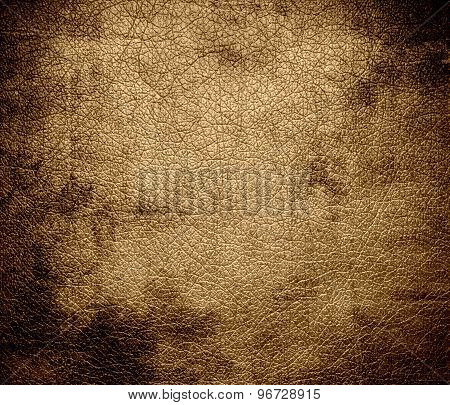 Grunge background of desert leather texture