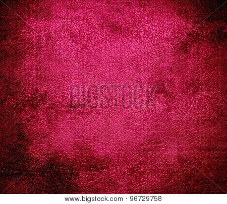 Grunge background of dogwood rose leather texture
