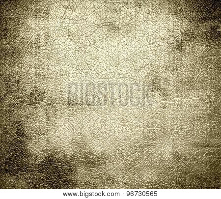 Grunge background of dutch white leather texture