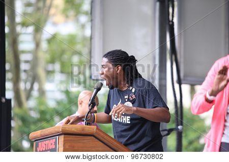 NY City Council member Jumaane Williams