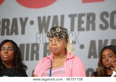 Gwen Carr, mother of Eric Garner