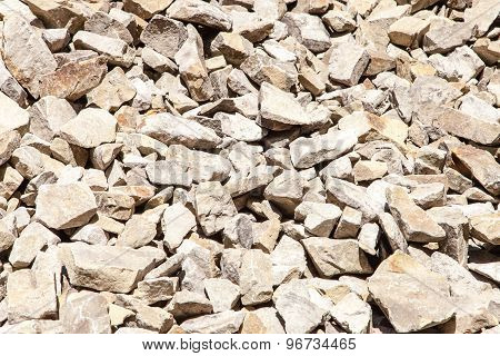 Rocks Background. These Are Crude Stones In The Nature