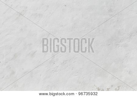 Empty White Concrete Wall, Background Texture