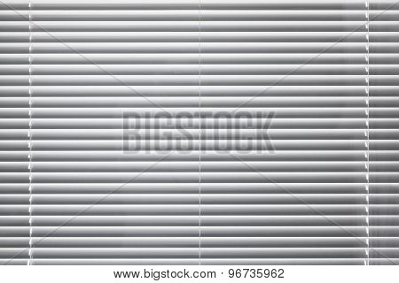 Modern White Window Blinds Background Texture