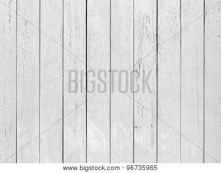 Wooden Wall With Cracked Paint, Detailed Background