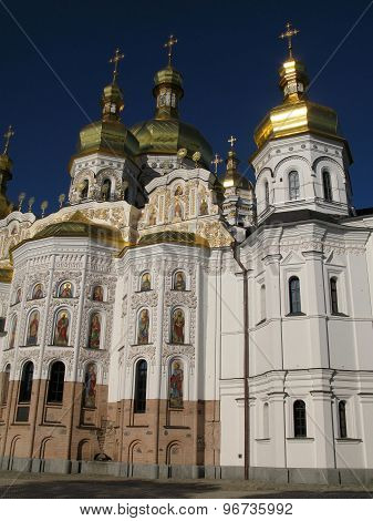 The Main Temple Of The Kiev-pechersk Lavra - Assumption Cathedral (church Of The Great Cave)