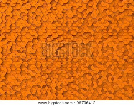 Random Elevated Geometric Shapes Background