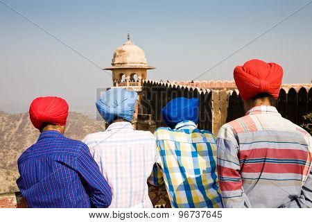 Domestic Sikh Tourists, India