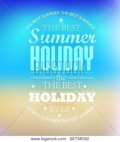 elements for Summer Holidays