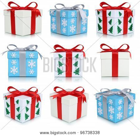 Christmas Gift Boxes Collection Of Gifts