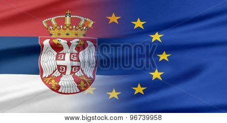 European Union and Serbia.