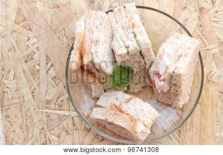 Club Sandwich Was The Delicious