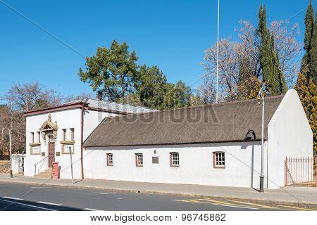 The First Raadsaal Museum In Bloemfontein