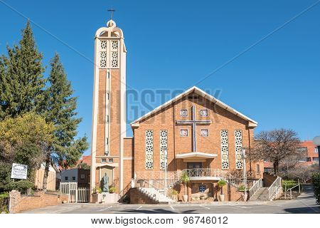 Sacred Heart Cathedral Catholic Church In Bloemfontein