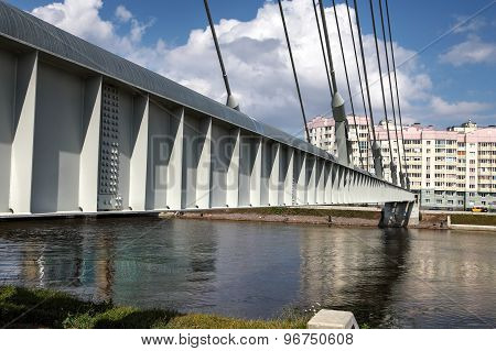 Cable-stayed Steam Pipe Bridge