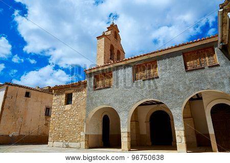 Church in Talayuelas Cuenca at Castilla la Mancha of spain
