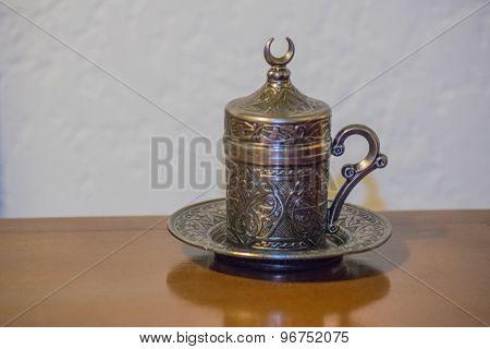 Ornate Turkish Tea Cup