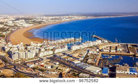 Panorama Of Agadir, Morocco