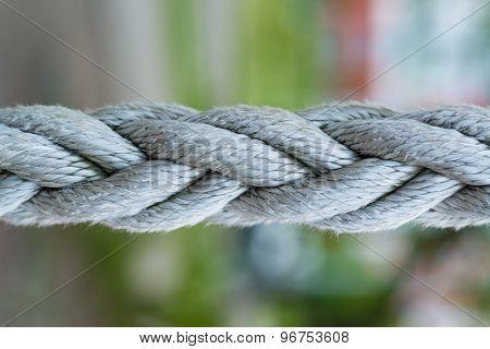 Ropes close-up