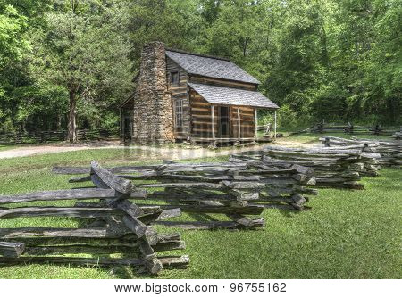 John Oliver Log Cabin, Great Smoky Mountains National Park